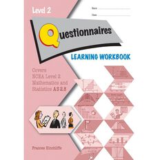 Ncea Year 12 Questionnaires 2.8 Learning Workbook