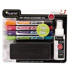 Quartet Whiteboard Accessory Kit-1x Duster 4x Whiteboard 1x Cleaner