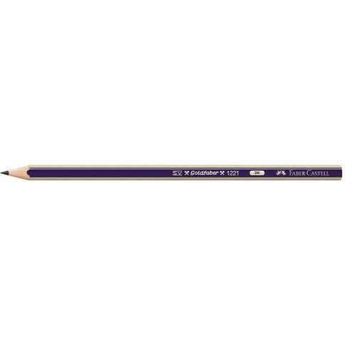 Faber-Castell Pencil Goldfaber 3H Loose Black