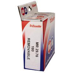 Quik Stik Labels Mr2976 29mm x 76mm 180 Pack White