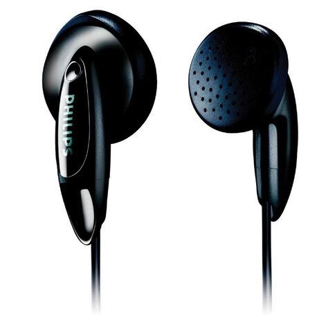 Philips Philips In Ear Basic Headphone She1360 Black