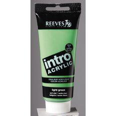 Reeves Intro Acrylic 100ml Light Green