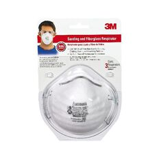 3M Safety Sanding And Fibreglass Respirator White