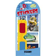 Peaceable Kingdom Stickers 3D Zoom