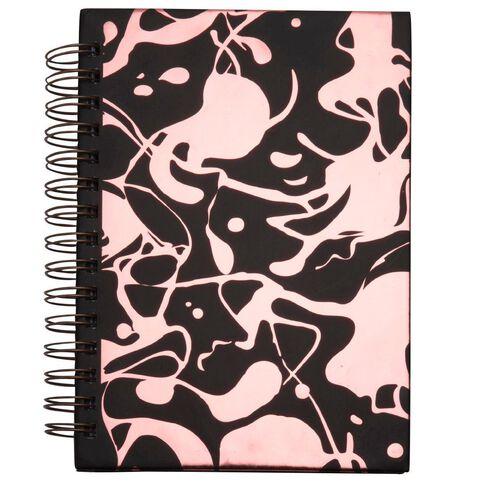 Uniti Spiral Hardcover Notebook Rose Gold A5