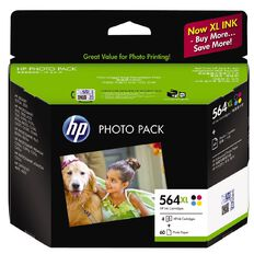 HP Ink Cartridge 564XL Photo Value 4 Pack