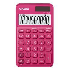 Casio Sl310Ucrd Handheld Calculator Red