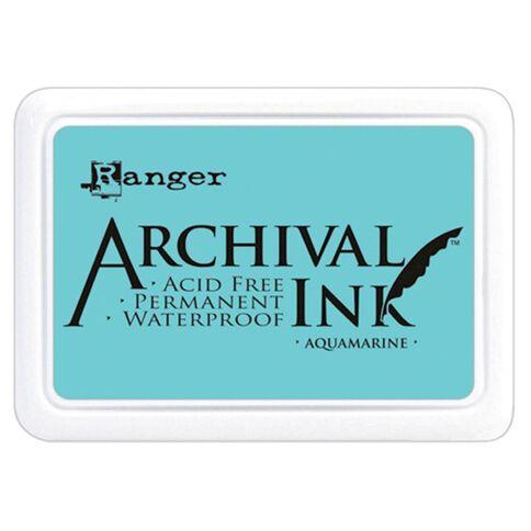 Ranger Stamp Pad Aquamarine