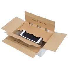 Korrvu Lok Compression Packaging Box White Medium