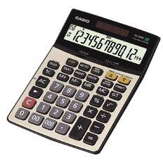 Casio Calculator Dj220D Desktop Black