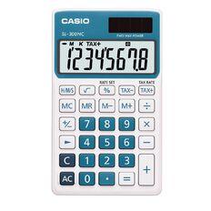 Casio Handheld Calculator SL300 Blue
