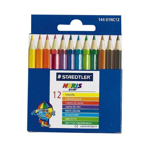 Staedtler Coloured Pencils Half 12 Pack