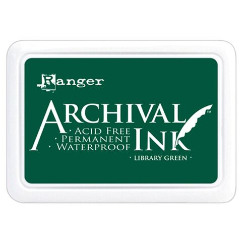 Ranger Stamp Pad Emerald Green