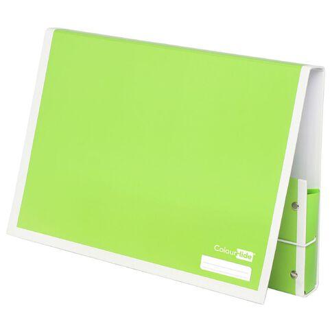 ColourHide Document Box Lime A4
