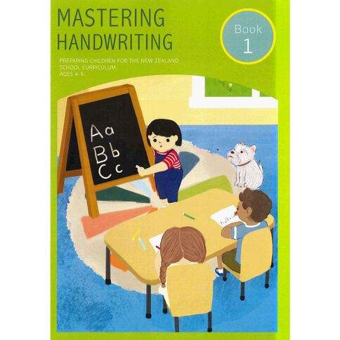 Mastering Handwriting Book 1
