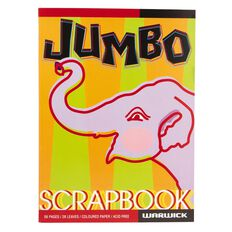 Warwick Scrapbook Jumbo Colour 28 Leaf