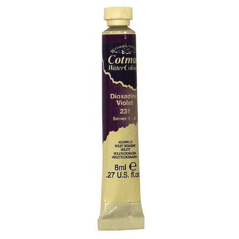 Cotman Watercolour Paint 8ml Dioxazine Violet