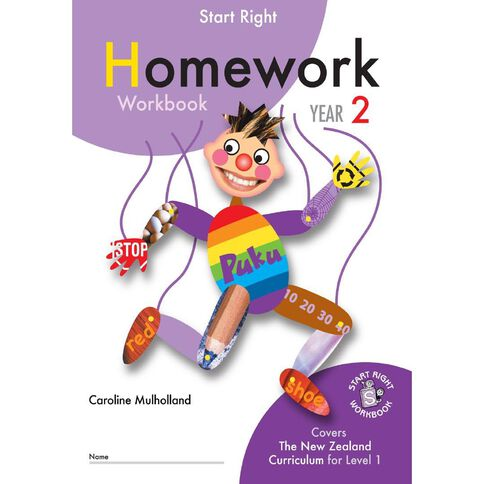 Year 2 Homework Workbook