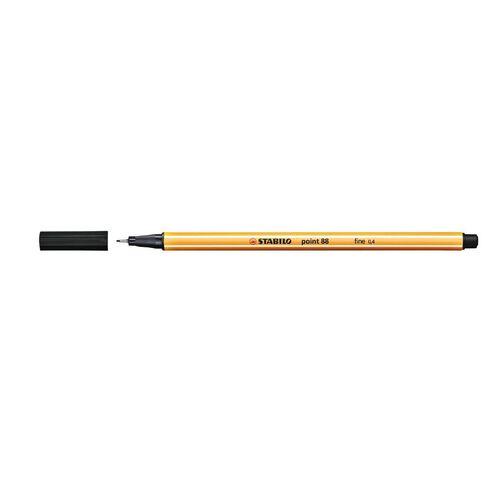 Stabilo Point 88 Fineliner 0.4mm Black