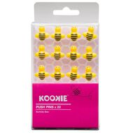 Kookie Bumble Bee Push Pins 20 Pack