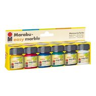 Marabu Paint Easy Marble Set 6 x 15ml