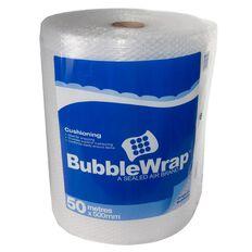 Bubble Wrap Roll 500mm x 50m Clear