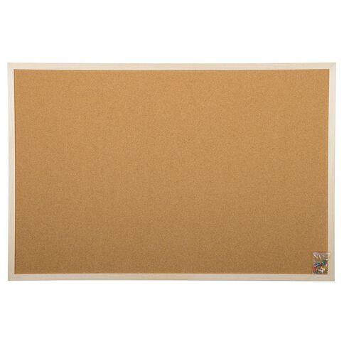 Workspace Corkboard 600 x 900mm Brown