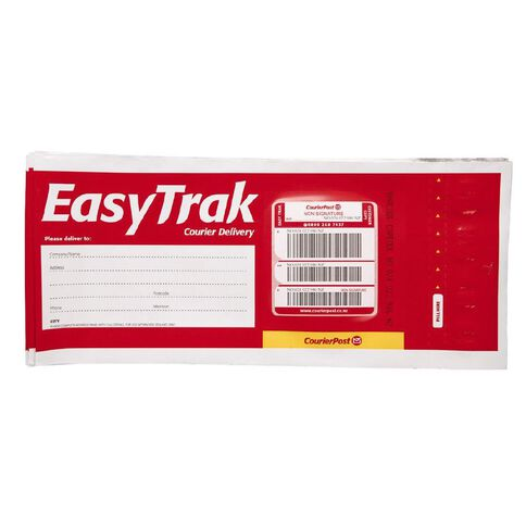 Courier Post Easytrak Dle Non-Signature Red