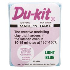 Du Kit Clay 50g Light Blue Light
