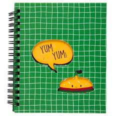 Kookie Burger Notebook Green