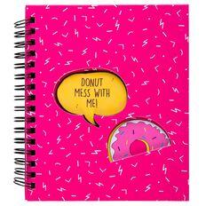 Kookie Donut Notebook Pink