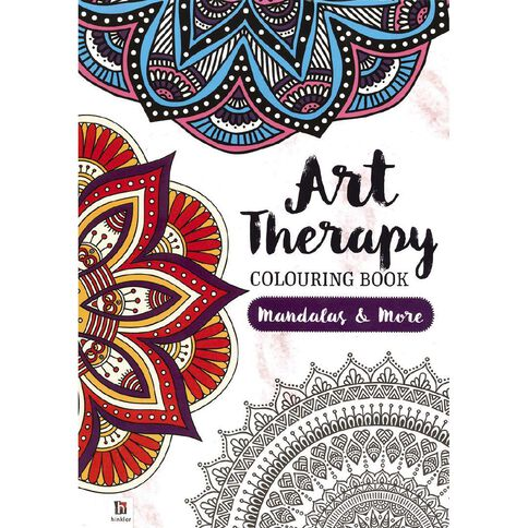 Art Therapy Colouring Book Mandalas and More