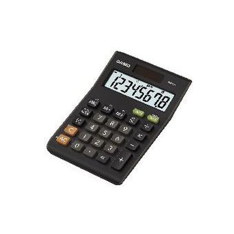 Casio Mini Desk Top Calculator MS-8B Dark Brown