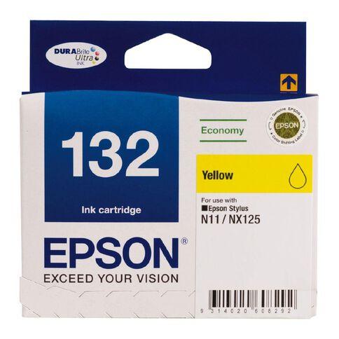 Epson Ink Cartridge 132 Yellow