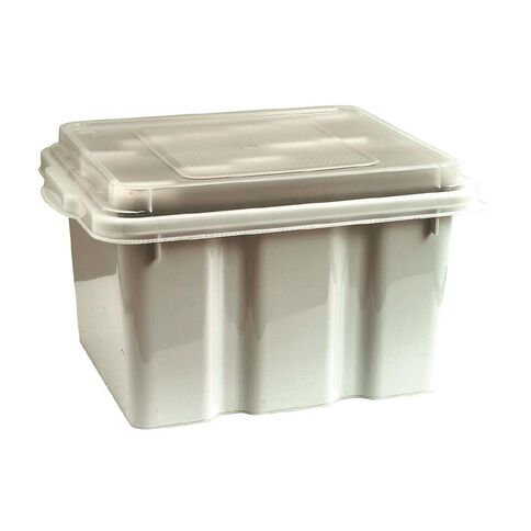 Marbig Office In A Box With Lid Clear