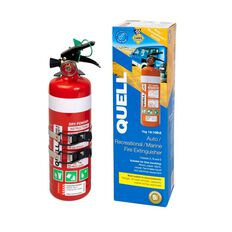 Quell Dry Powder Abe Fire Extinguisher 1kg Red