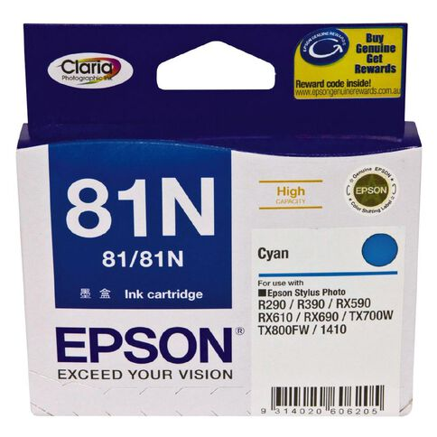 Epson Ink Cartridge 81N Light Cyan