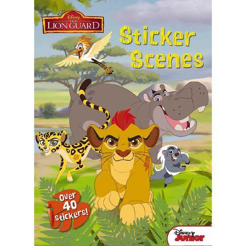 Disney Junior The Lion Guard Sticker Scenes