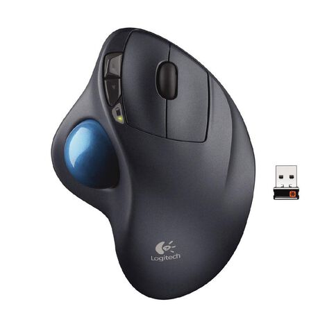 Logitech Wireless Trackball M570 Black