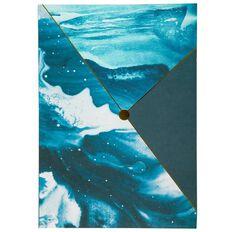 Uniti Breathe Jotter Pad Blue A4