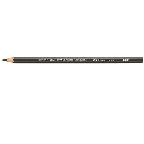Graphite Aquarelle Artist Single Pencil 8B Black