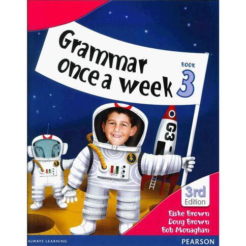 Year 3 Grammar Once A Week 3