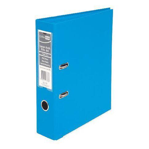 ColourHide Linen Lever Arch File Fc Blue