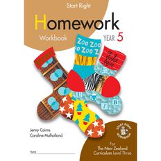 SR Year 5 Homework Workbook