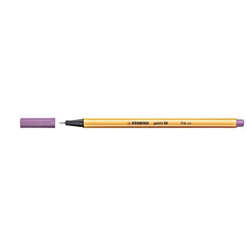 Stabilo Point 88 Fineliner 0.4mm Light Lilac Purple