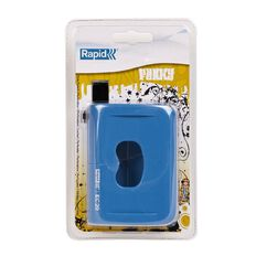 Rapid Funky Hole Punch EC20 2 Hole 20 Sheet Blue