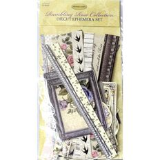 Ultimate Crafts Rambling Rose Ephemera Pack Multi-Coloured