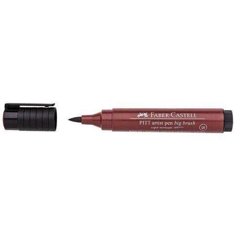 Pitt Artist Big Brush Pen 169 Caput Mortuum