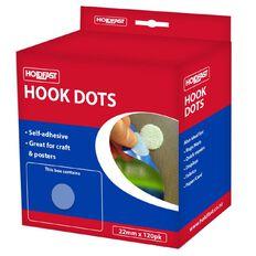 Holdfast Fastgrip Hooks 22mm 120 Pack White