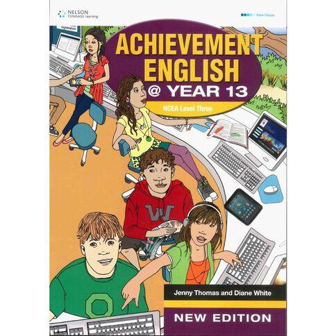 Ncea Year 13 Achievement English